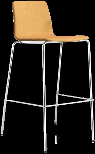 Inga 5687 - barkruk met gestoffeerde zitting