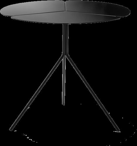 Folia Table High - design tafeltje met een klavervormig blad