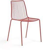 Nolita 3651 - stalen terrasstoel,  kantine stoel