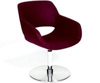Jolie 4503/2 - Wacht- loungefauteuil met een vlakke voet, draaibaar met auto-return