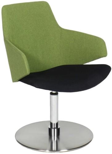 Jessie 4703/2 - Wacht- loungestoel volledig gestoffeerd, auto-return