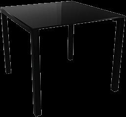 Juice tafel - metalen frame met een volkern blad