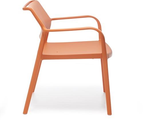 Ara 316 - kunststof lounge stoel met armleggers-3
