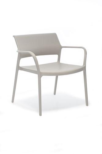 Ara 316 - kunststof lounge stoel met armleggers-5