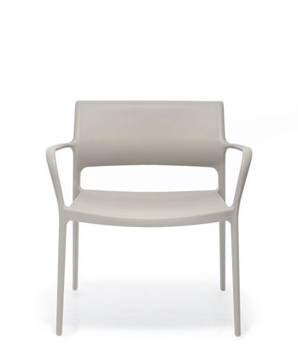 Ara 316 - kunststof lounge stoel met armleggers-4