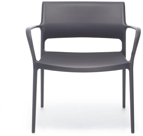 Ara 316 - kunststof lounge stoel met armleggers-9