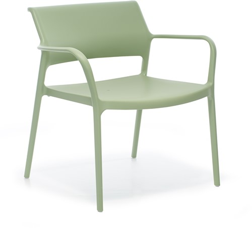 Ara 316 - kunststof lounge stoel met armleggers-12
