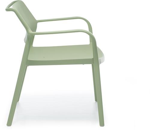 Ara 316 - kunststof lounge stoel met armleggers-13