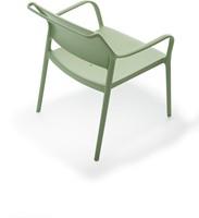 Ara 316 - kunststof lounge stoel met armleggers-14