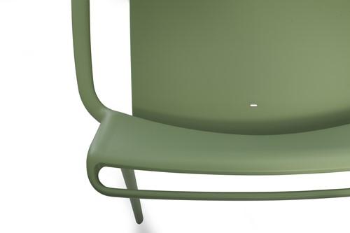 Ara 316 - kunststof lounge stoel met armleggers-15