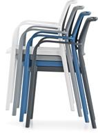 Ara 315 - kunststof zorgstoel met armleggers-12