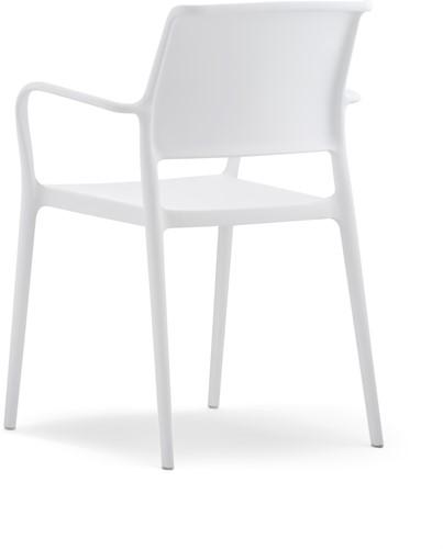 Ara 315 - kunststof zorgstoel met armleggers-7