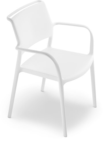 Ara 315 - kunststof zorgstoel met armleggers-8