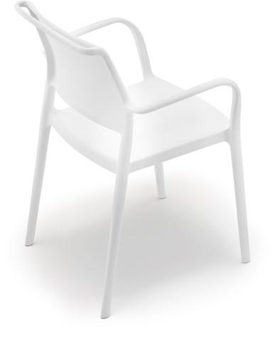 Ara 315 - kunststof zorgstoel met armleggers-9