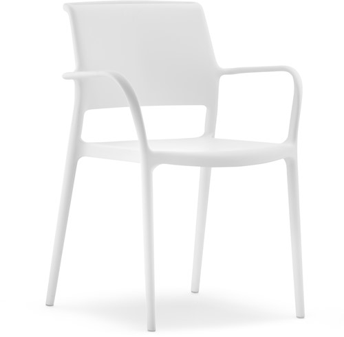Ara 315 - kunststof zorgstoel met armleggers-5