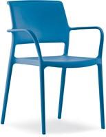 Ara 315 - kunststof zorgstoel met armleggers-13