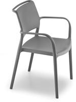 Ara 315 - kunststof zorgstoel met armleggers-17
