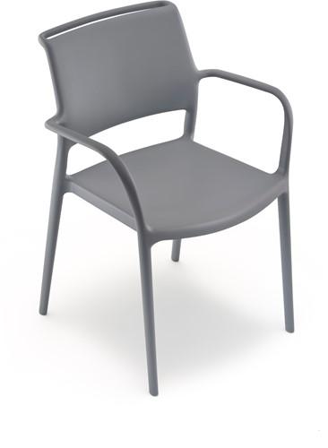 Ara 315 - kunststof zorgstoel met armleggers-18