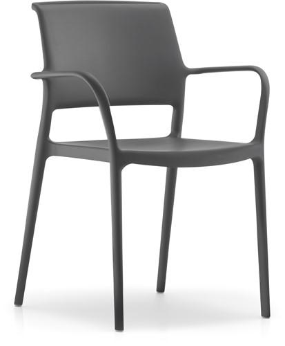 Ara 315 - kunststof zorgstoel met armleggers-15
