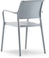 Ara 315 - kunststof zorgstoel met armleggers-21