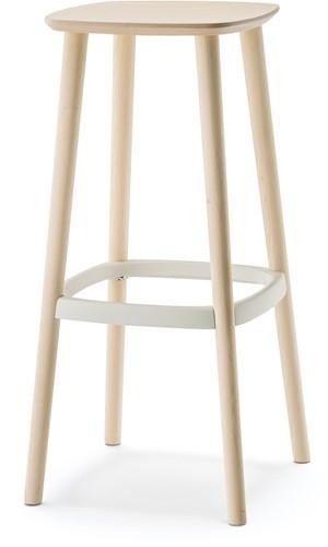 Babila 2706/A - houten kruk gestoffeerd. FSC 100% gecertificeerd-1