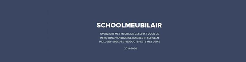 Schoolmeubilair catalogus