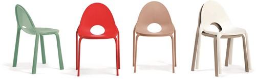 Drop - kunststof stoel-1