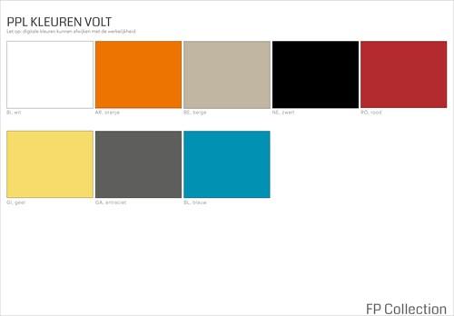 Kleurenoverzicht Volt