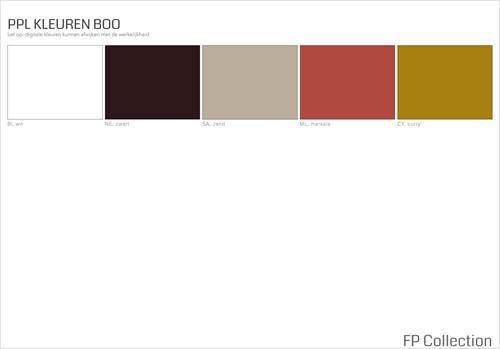 Kleurenoverzicht Boo