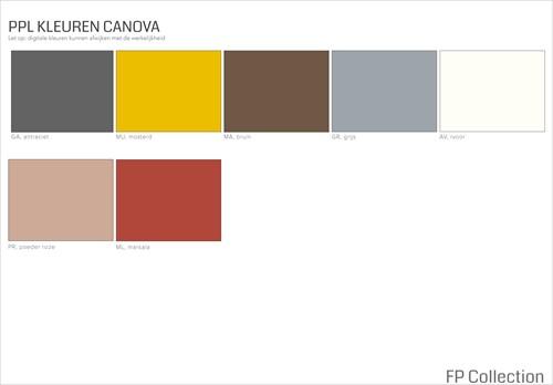 Kleurenoverzicht Canova