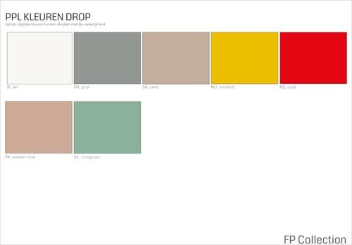 Kleurenoverzicht Drop