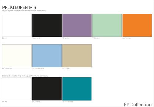 Kleurenoverzicht Iris