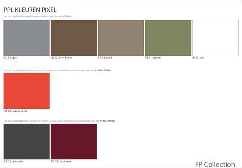 Pixel kruk H76 - kunststof kruk-1
