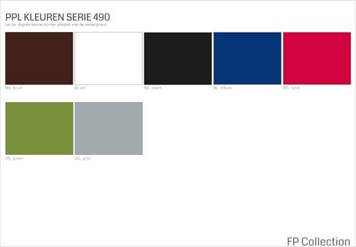 Kleurenoverzicht Serie 490