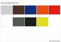 Kleurenoverzicht Serie 75
