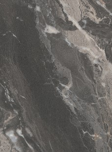 Tafelblad rechthoekig, 20 mm dik - melamine met marmerlook-3