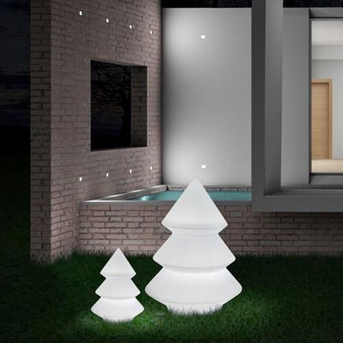 Abete Kerstboom LED - Plart Design kunststof kerstboom met LED verlichting