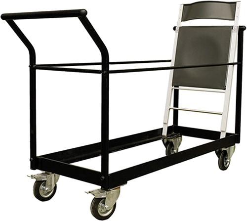 Trolley AC77 - transportwagen voor 45 kunststof of houten klapstoelen-2