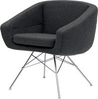 Aiko low - gestoffeerde fauteuil