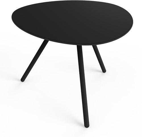 Lonc a-Lowha - (outdoor) tafel in organische vorm met kiezelvormig volkern blad, hoogte 65 cm-3