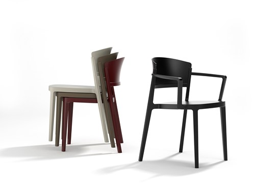 Andus stoel - geheel kunststof schoolstoel-2