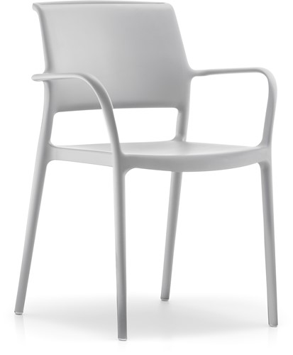 Ara 315 - kunststof zorgstoel met armleggers