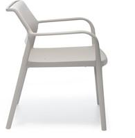 Ara 316 - kunststof lounge stoel met armleggers