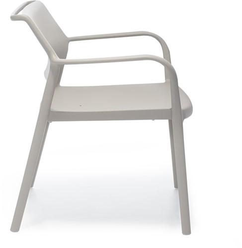 Ara 316 - kunststof lounge stoel met armleggers-2