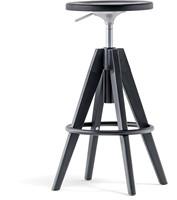 Arki Kruk, frame hout eiken en metaal. Gaslift hoogte verstelbaar 65-75 cm. FSC 100% gecertificeerd.-1