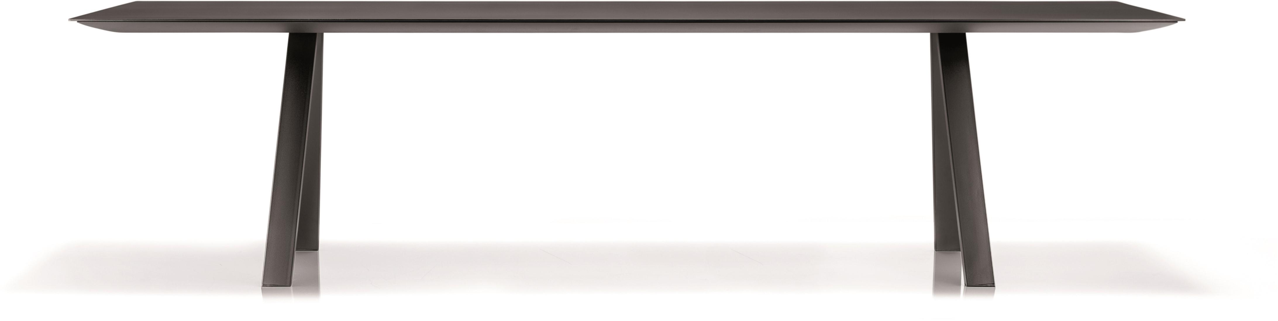 Tafel Met Poten.Arki Tafel Melamine Design Vergadertafel Met Een Melamine Blad