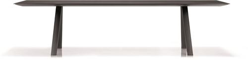 Arki Tafel melamine - design / vergadertafel met een melamine blad en schuine poten