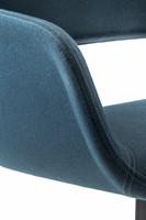 Babila Comfort 2749 - gestoffeerde loungestoel met metalen slede frame-3
