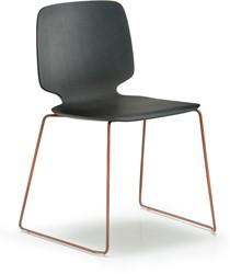 Babila 2720 - houten stoel met sledeframe