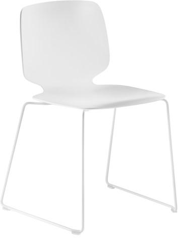 Babila 2740 - kunststof stoel met sledeframe